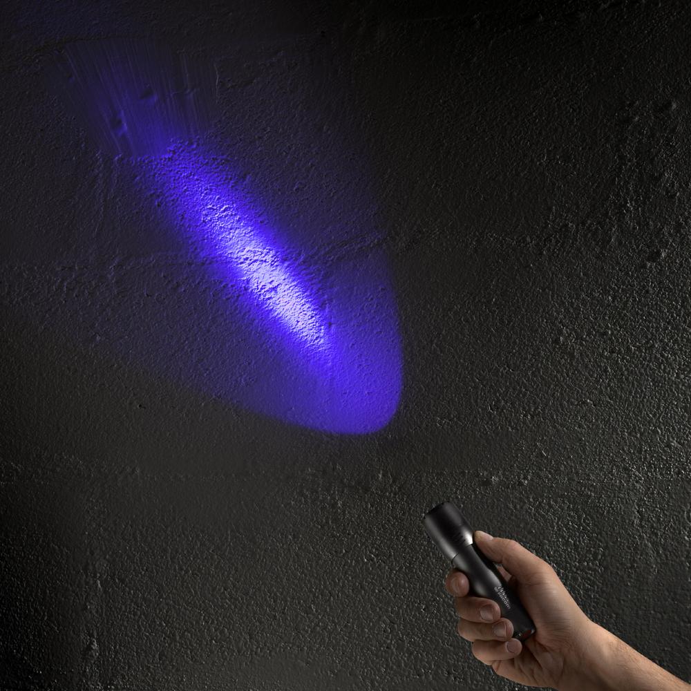 Eletorot UV Torche DEL Lumière Noire Lampe torche Ultraviolet Lampe torche 395 Presque comme neuf